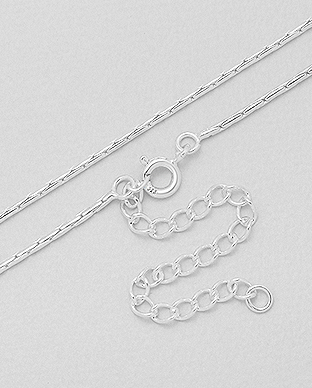 Wholesale Italian and Thai Chains - Sterling Silver Jewelry