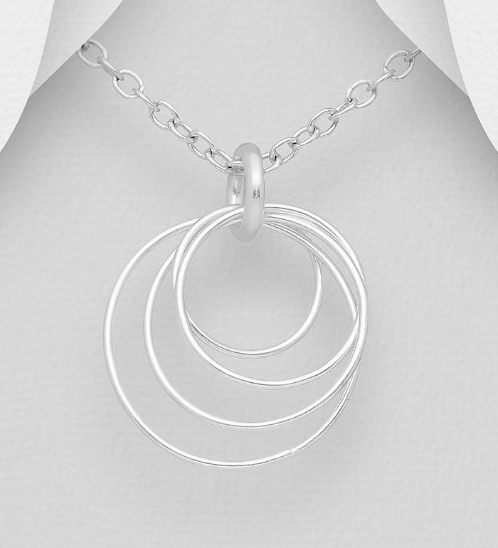 Wholesale 925 Silver Pearl Leaf Collier Pendentif Femmes Bijoux Fantaisie J117